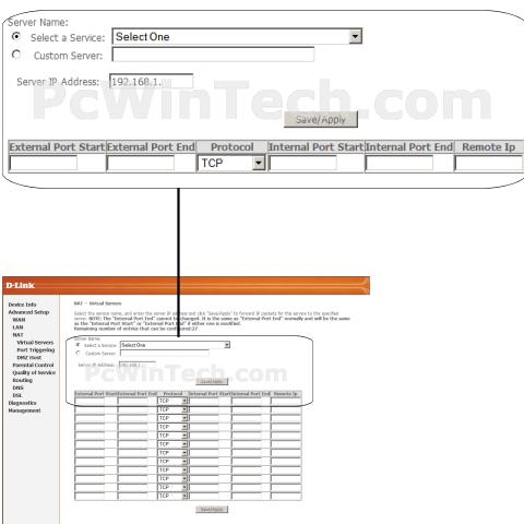 Port forwarding d-link dsl-2760u (d-link firmware) | pcwintech.