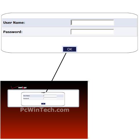 Wireless Setup - Actiontec - GT704-WG (Verizon Firmware)   PcWinTech