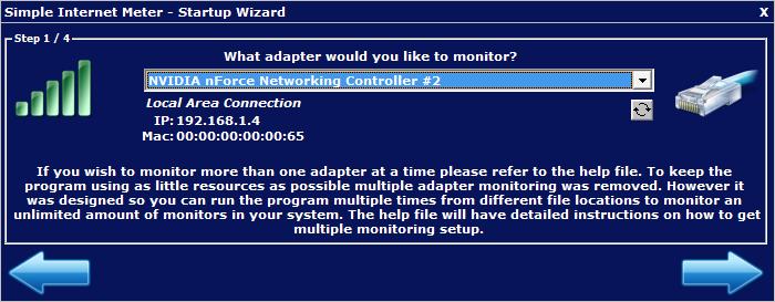 Simple Internet Meter Help & FAQ | PcWinTech com™